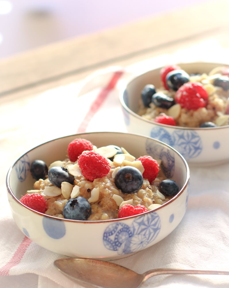 Brown rice & Quinoa porridge 1