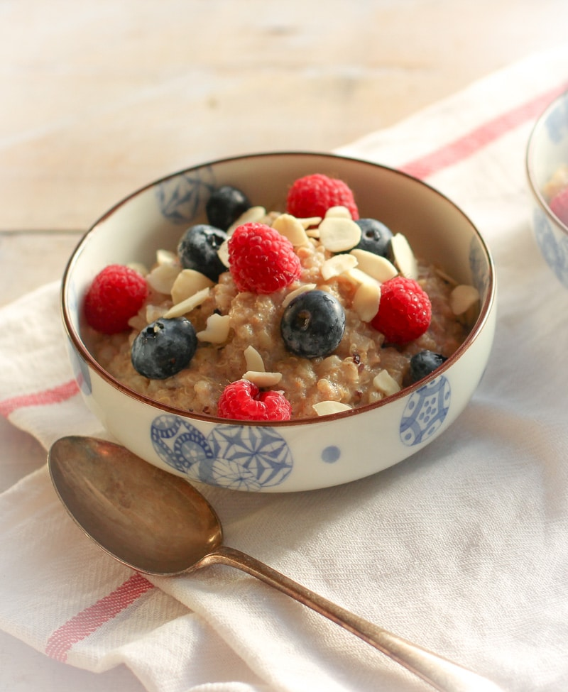 Brown rice & Quinoa porridge 3