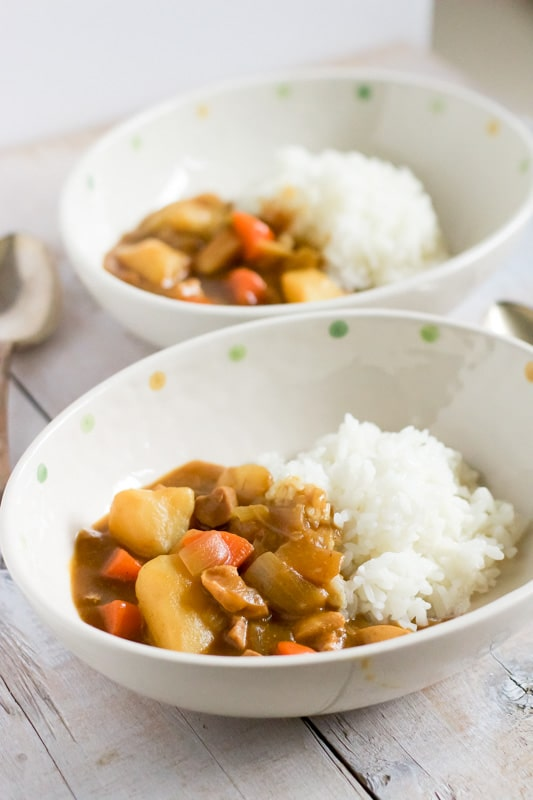 Japanese Curry Rice 4