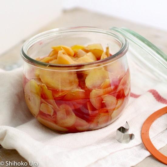 Gari pickled ginger