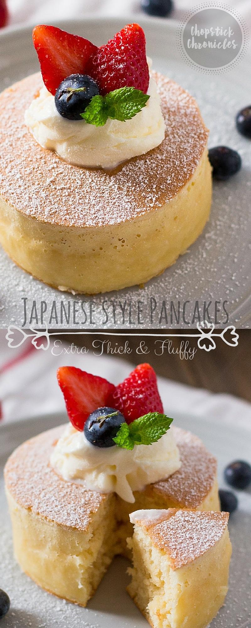 Japanese Style Pancakes