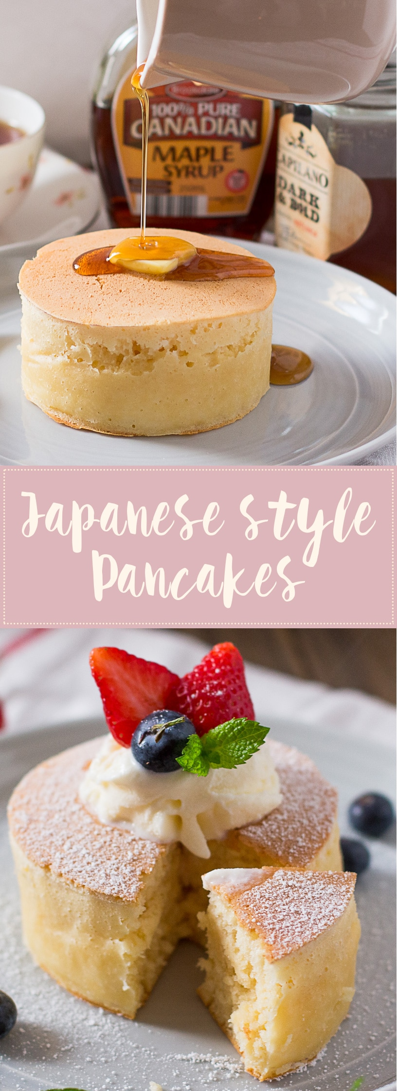 Extra thick and fluffy japanese style pancakes chopstick chronicles japanese pancakes forumfinder Images