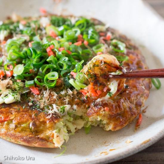 Okonomiyaki: Japanese Savoury Pancakes