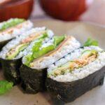BLT Rice sandwich-Onigirazu