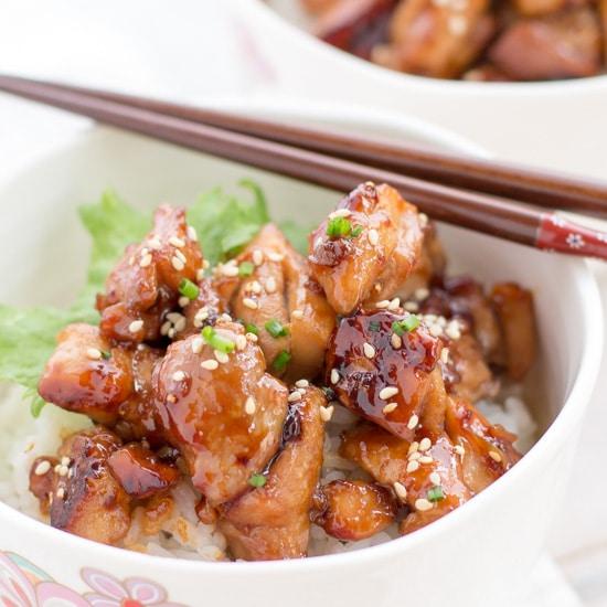 the best teriyaki chicken  chopstick chronicles