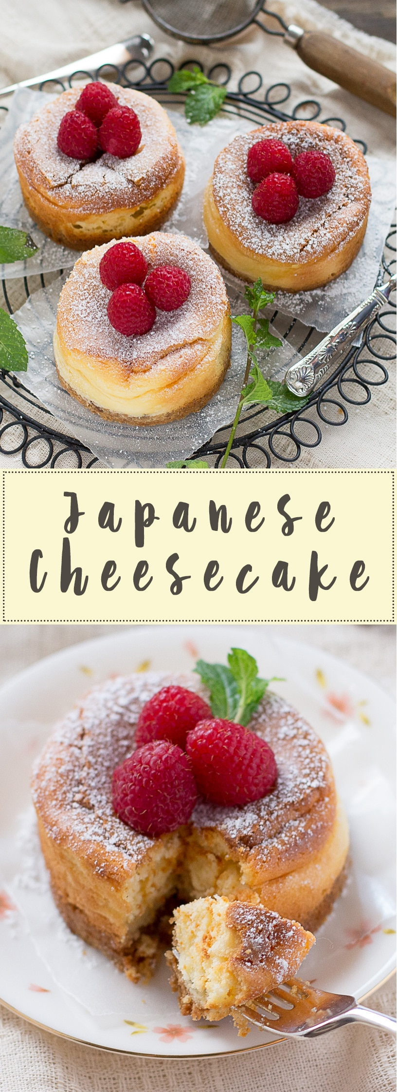 Rich & Creamy Japanese Cheesecakes- Easy and delicious