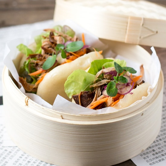 Pulled Pork Bao Buns