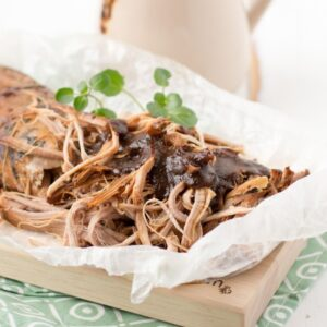 Slow-Cooker Pulled Pork with Japanese Plum Sauce