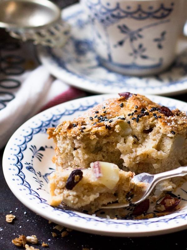 Sweet Potato Granola Cake