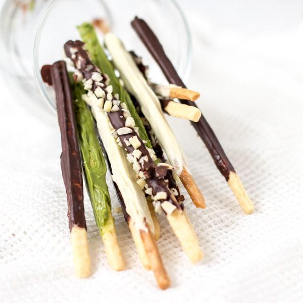 ... sticks homemade pocky sticks recipes dishmaps homemade chocolate pocky