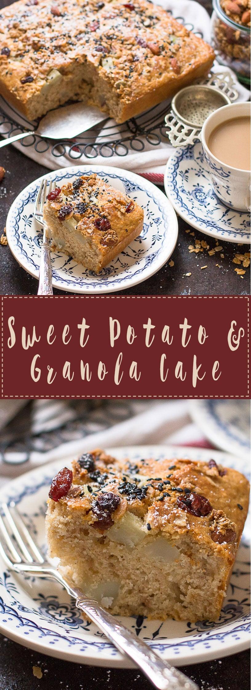 Sweetpotato-&-Granola-Cake