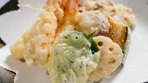 Tempura – how to cook crispy tempura 天ぷら