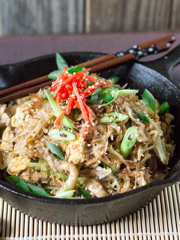 Yakisoba- delicious Japanese fried noodles