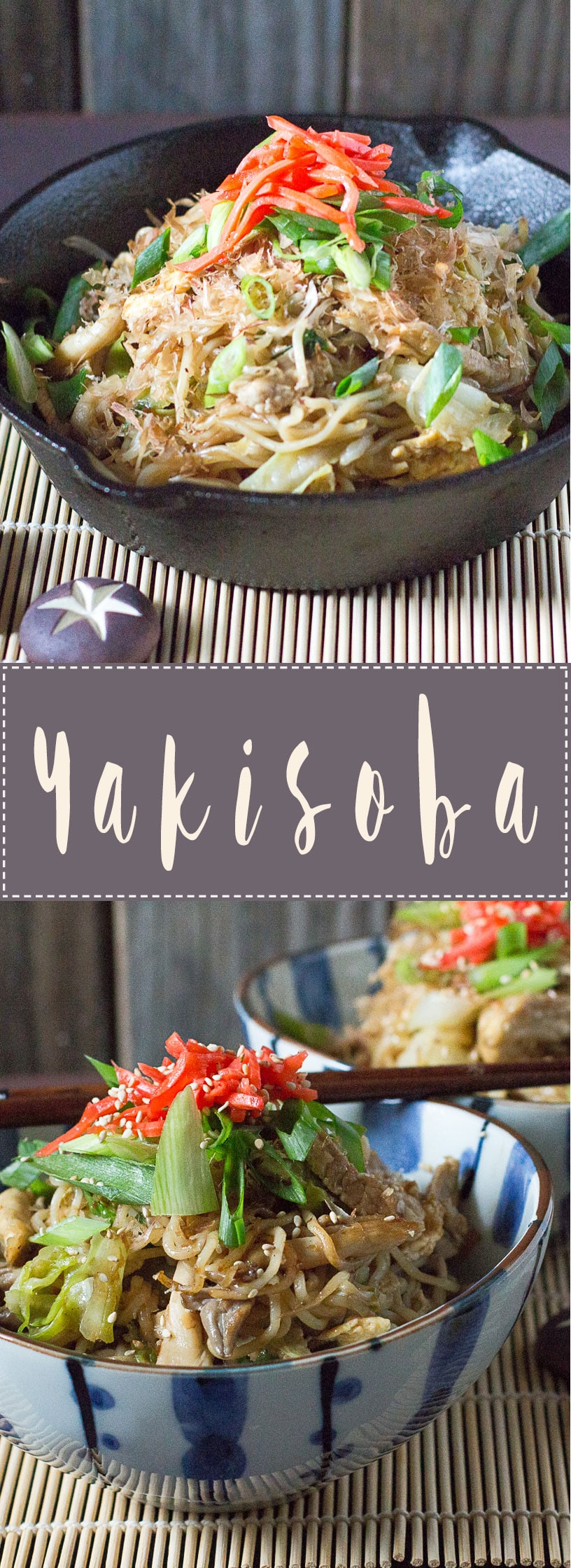 Yakisoba- delicious Japanese fried noodles