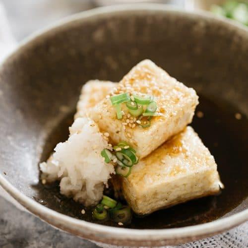 Agedashi Tofu How To Cook The Best Japanese Vegan Chopstick