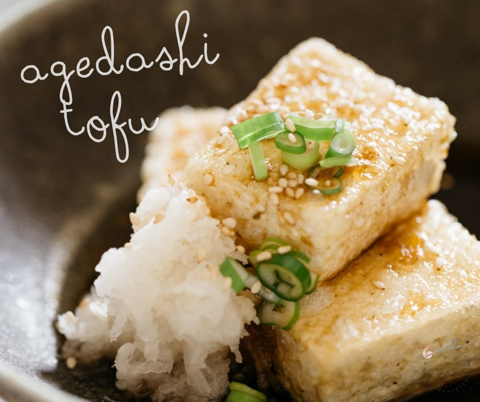 Agedashi Tofu How to cook the best Japanese vegan