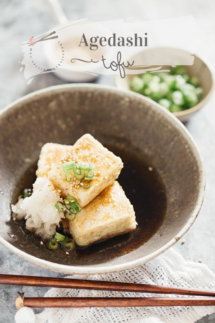 Agedashi Tofu How to cook the best Japanese vegan