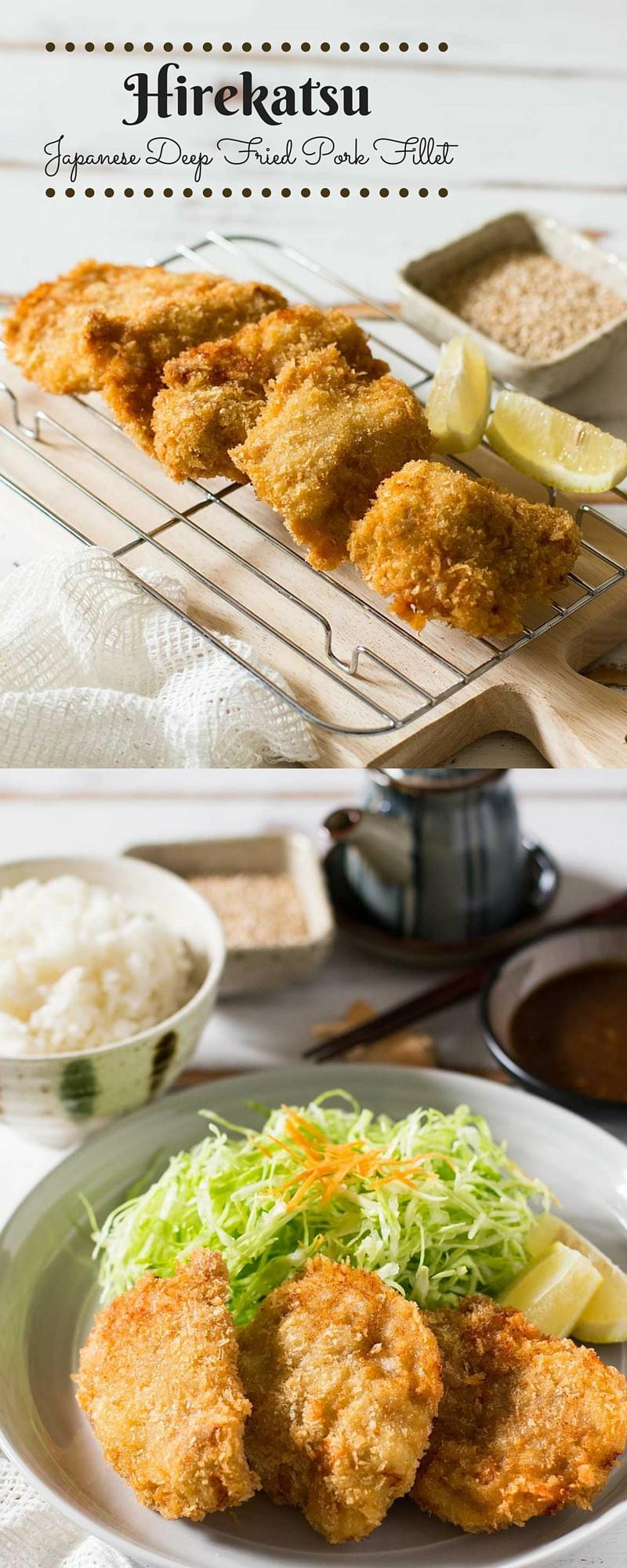Hirekatsu - Japanese Deep Fried Pork Fillets