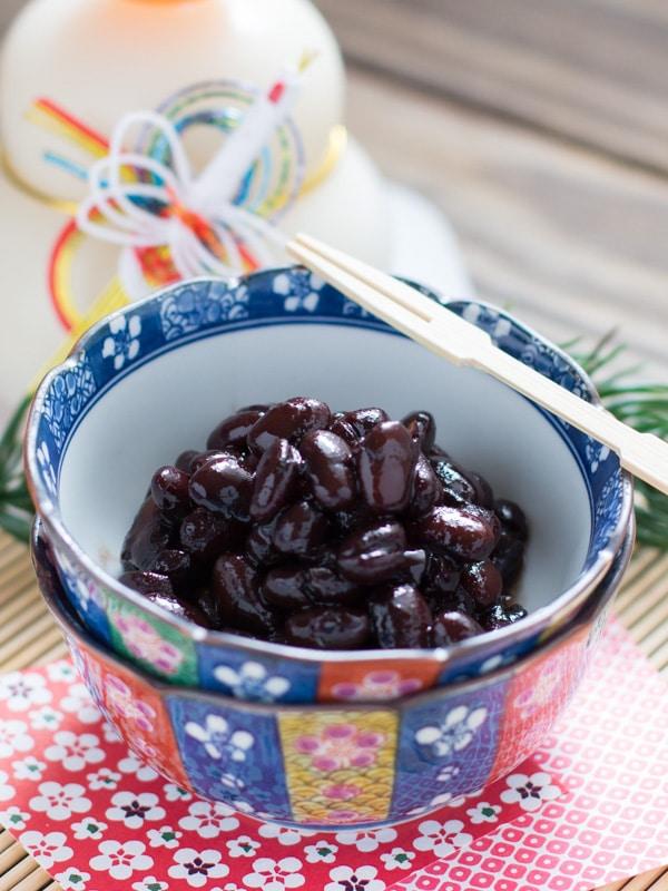 Kuromame - Sweetened Black Beans
