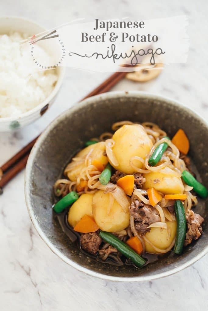 nikujaga bee and potato