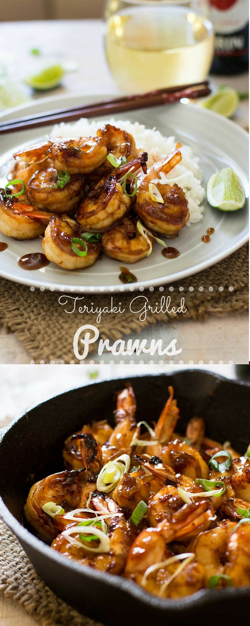 Teriyaki Grilled Prawn