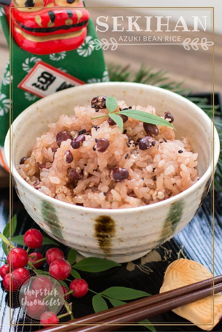 Sekihan- Azuki Bean Rice
