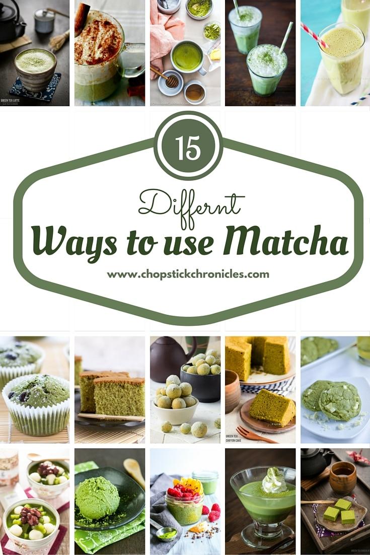15 Different ways to use Matcha
