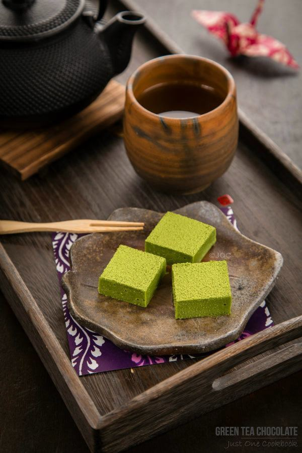 Green Tea (Matcha) Chocolate by Just One Cook Book