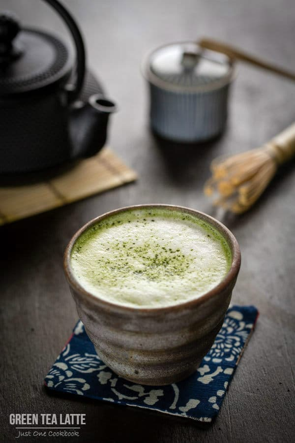 Green Tea Latte by Just One Cook Book