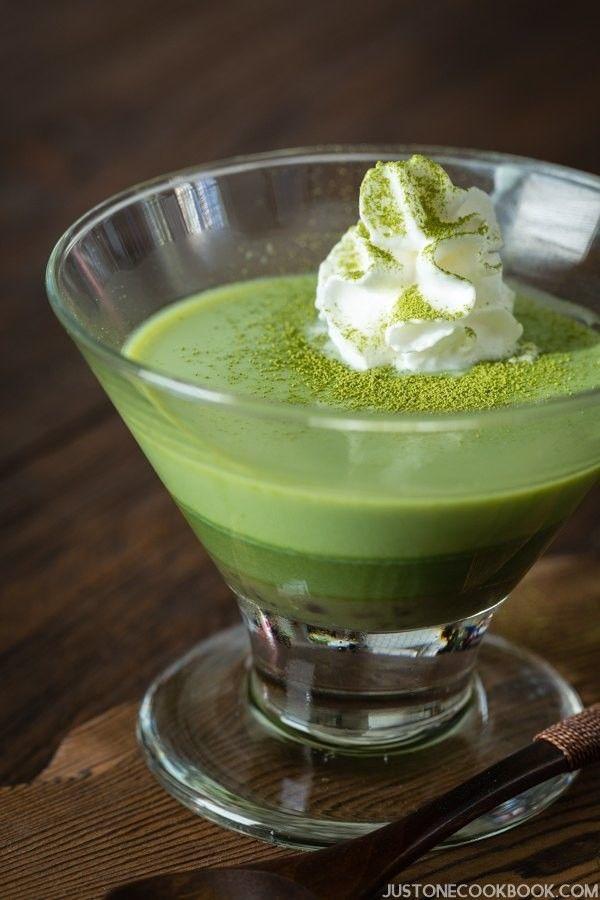 Green Tea (Matcha) Pudding