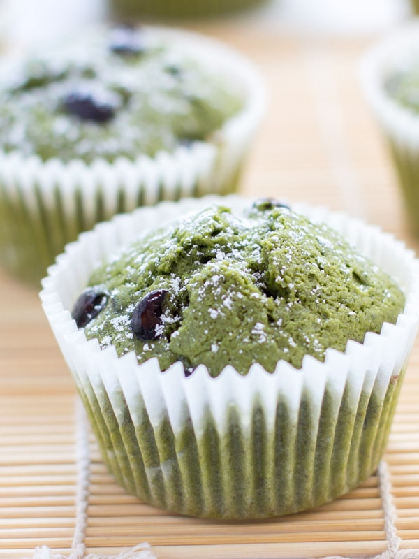 Matcha Kuromame Muffin