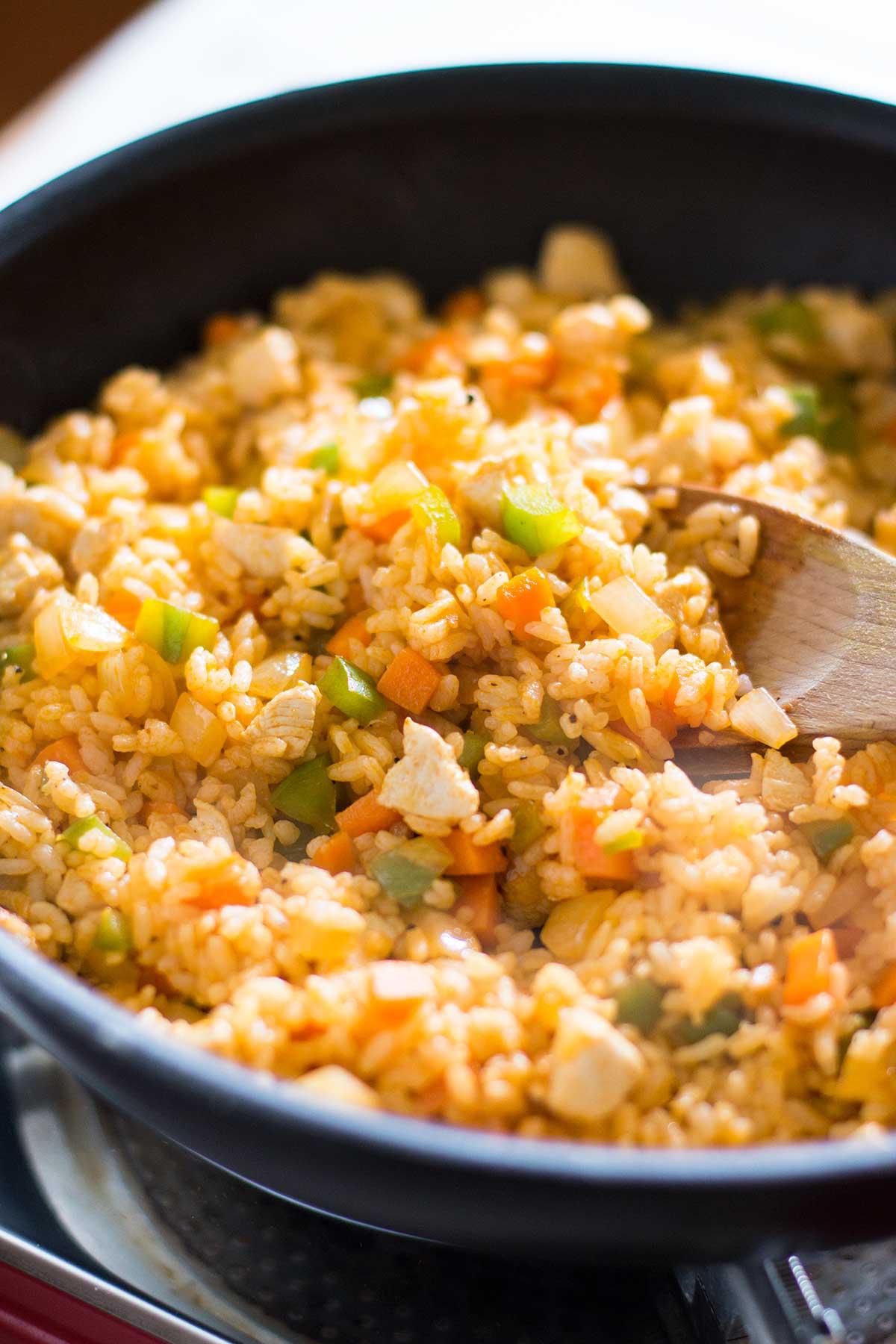 omurice Japanese omelette rice
