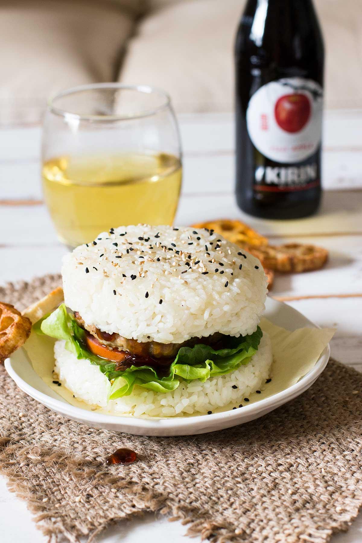 Teriyaki Rice Burger