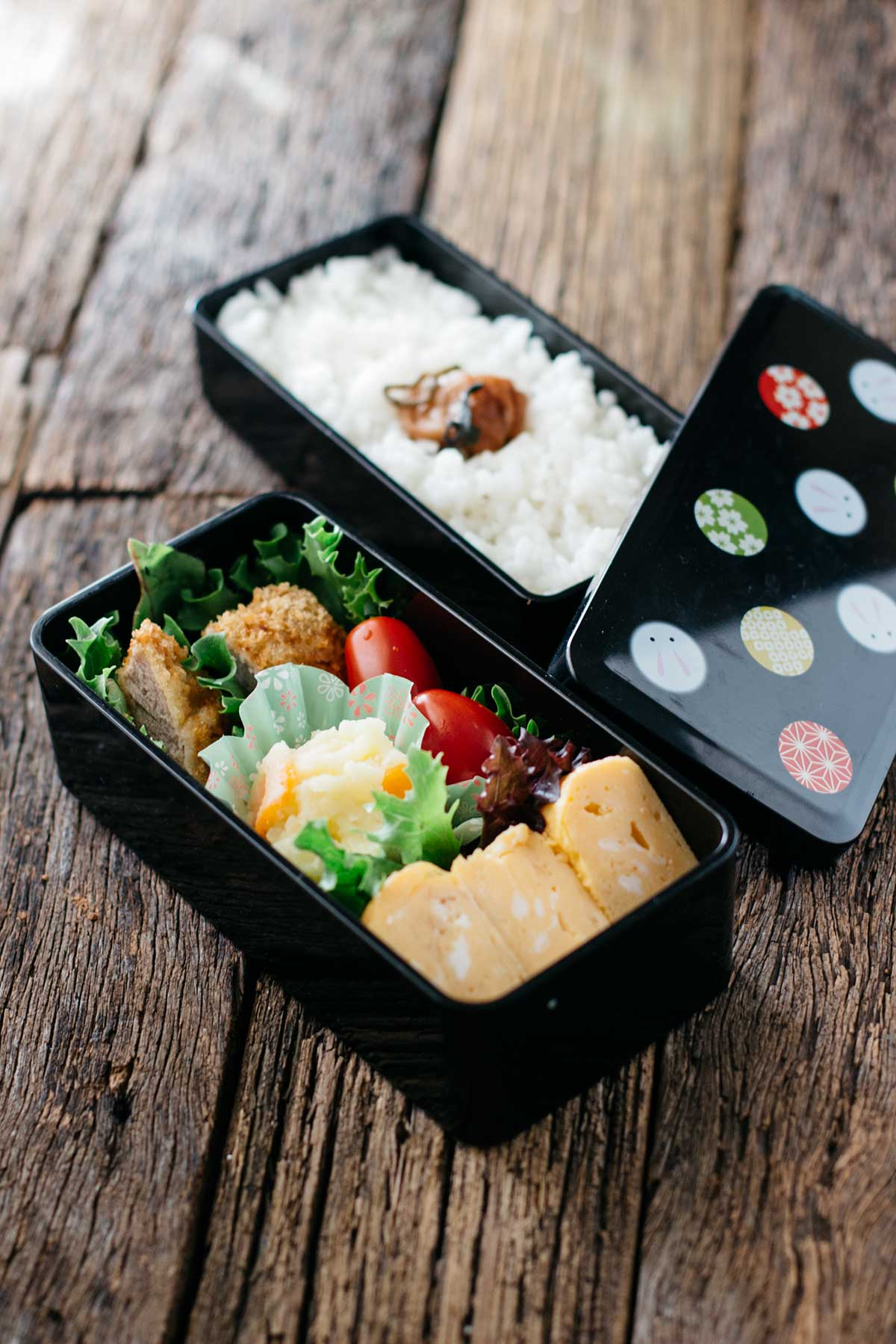 Simple bento chopstick chronicles but these can often look quite difficult and professional when really bento is very easy to make making a simple plain japanese forumfinder Gallery
