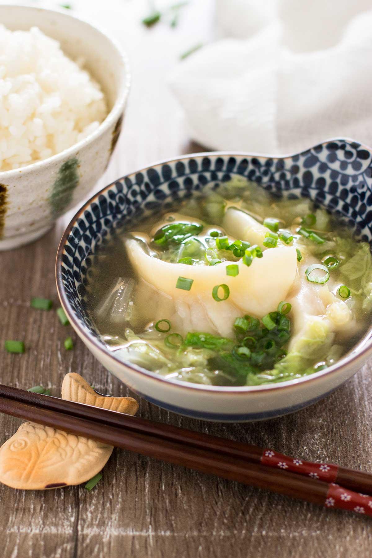 Gyoza Soup