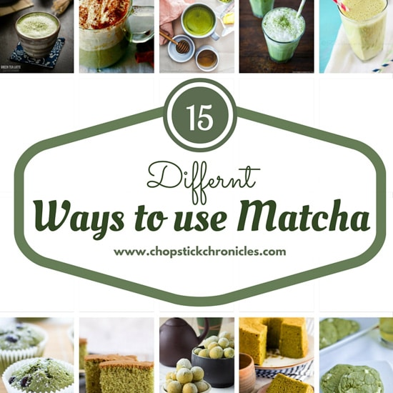 15 Different Ways To Use Matcha