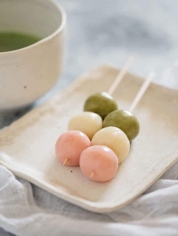 Sanshoku(three colour) Dango