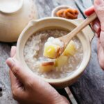 Japanese porridge with Sweet potato