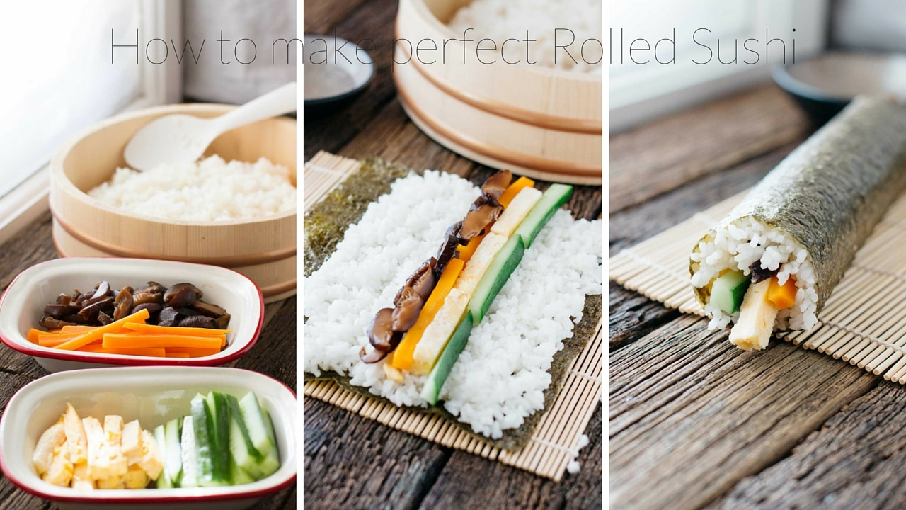 How to make perfectly rolled Sushi