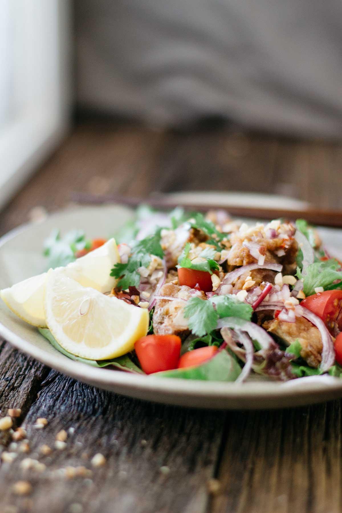 Karaage-Chicken-Salad