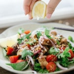 Karaage salad 1x1