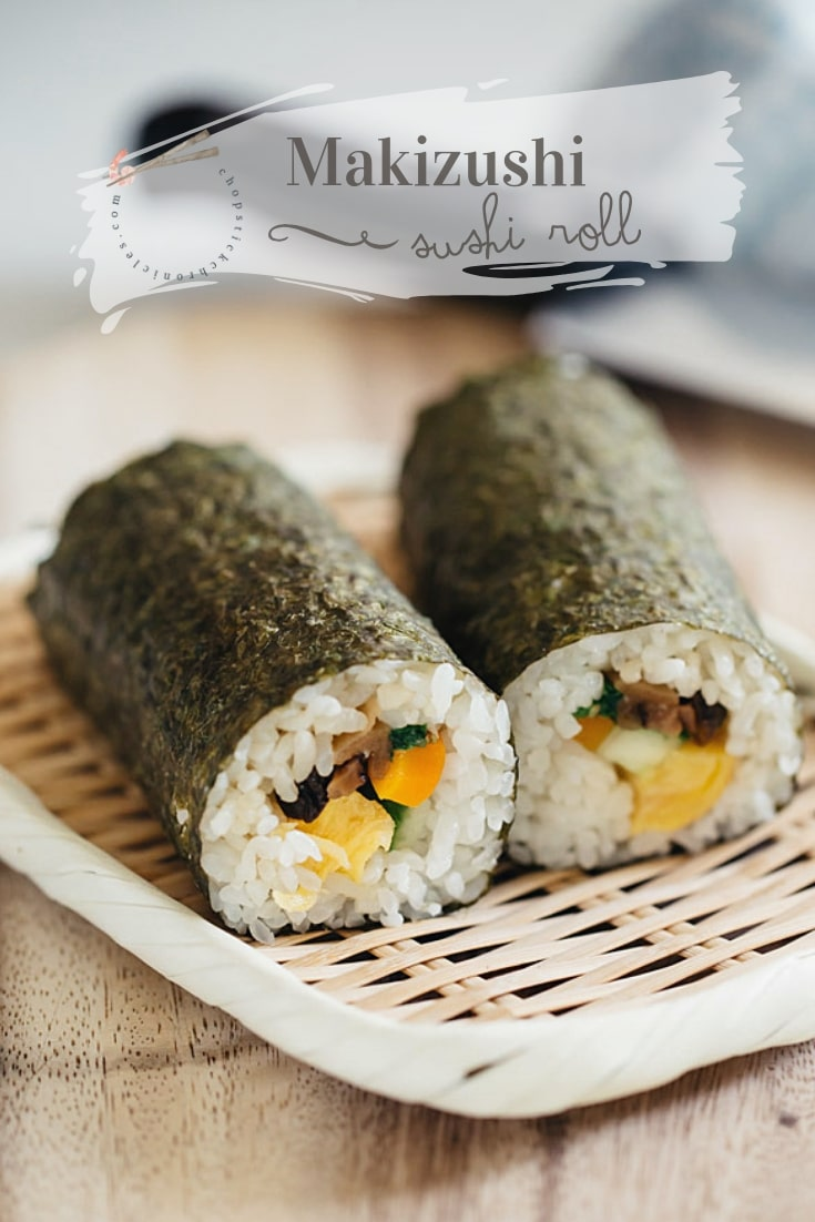 Super Easy Futomaki Sushi Rolls Easy recipe with lots of tips and tricks for homemade, perfectly-rolled, classic sushi rolls. Makizushi with all your favourite fillings!