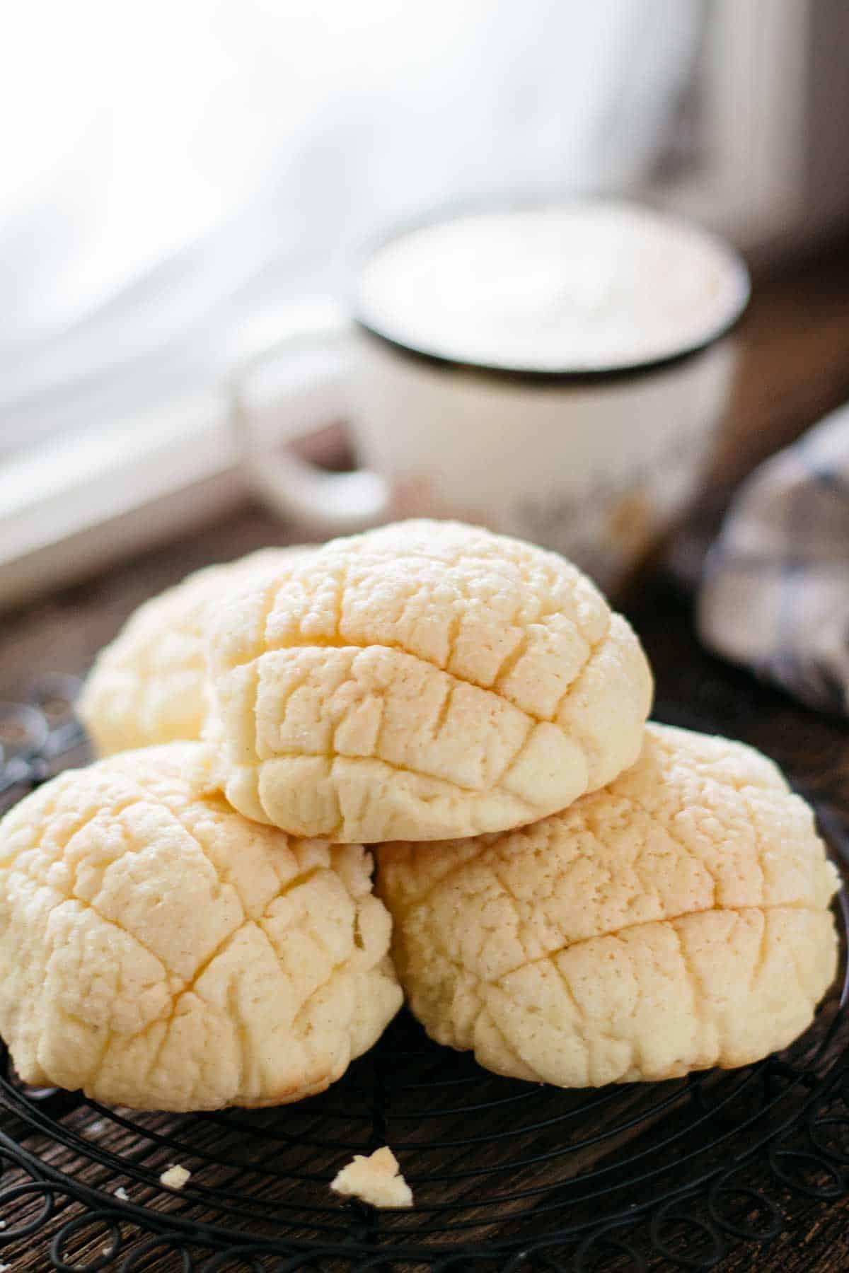 Japanese Melon Bread Chopstick Chronicles