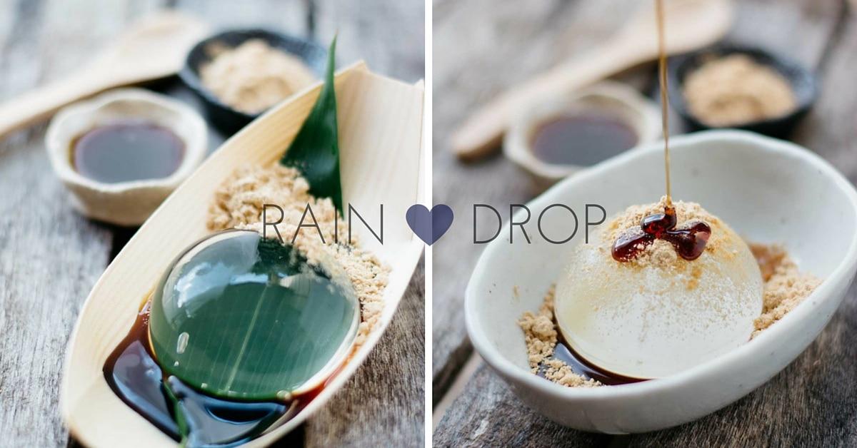 Water Drop Cake Recipe
