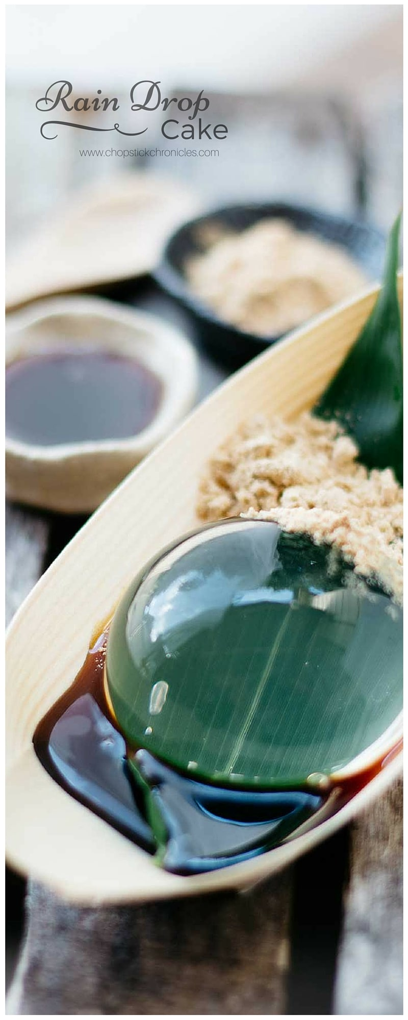 Raindrop Cake - make crystal clear raindrop | Chopstick