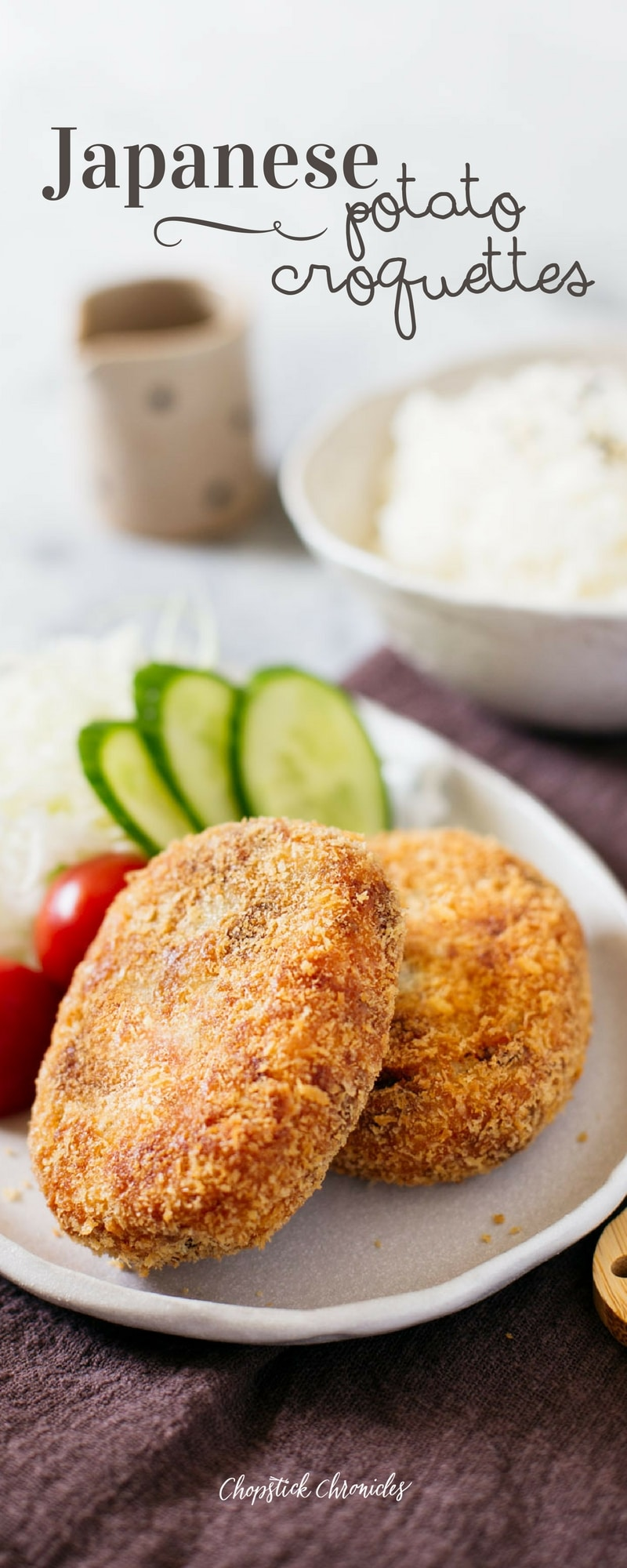 how to make japanese potato croquettes