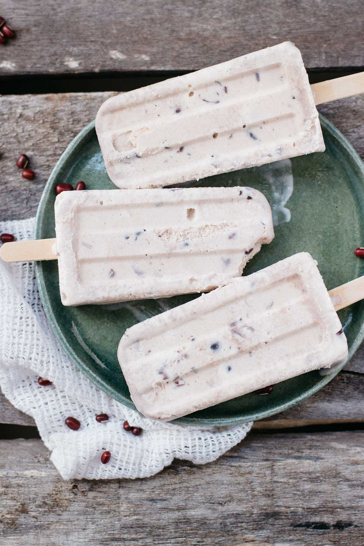 Red Bean Popsicles