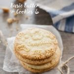Basic Butter Cookie