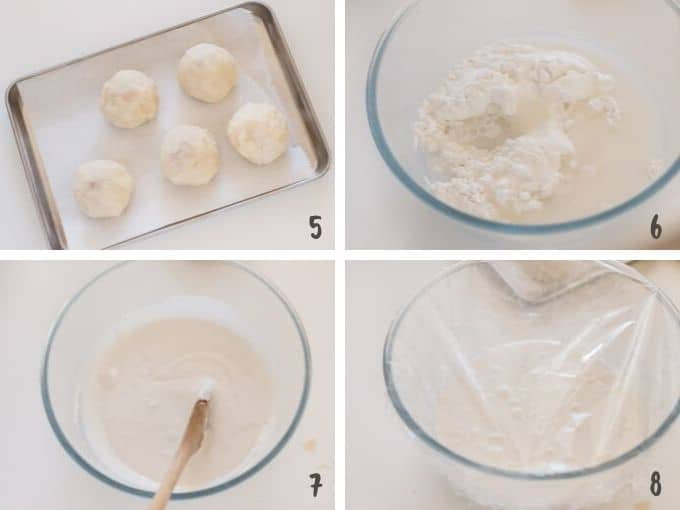 making mochi with microwave