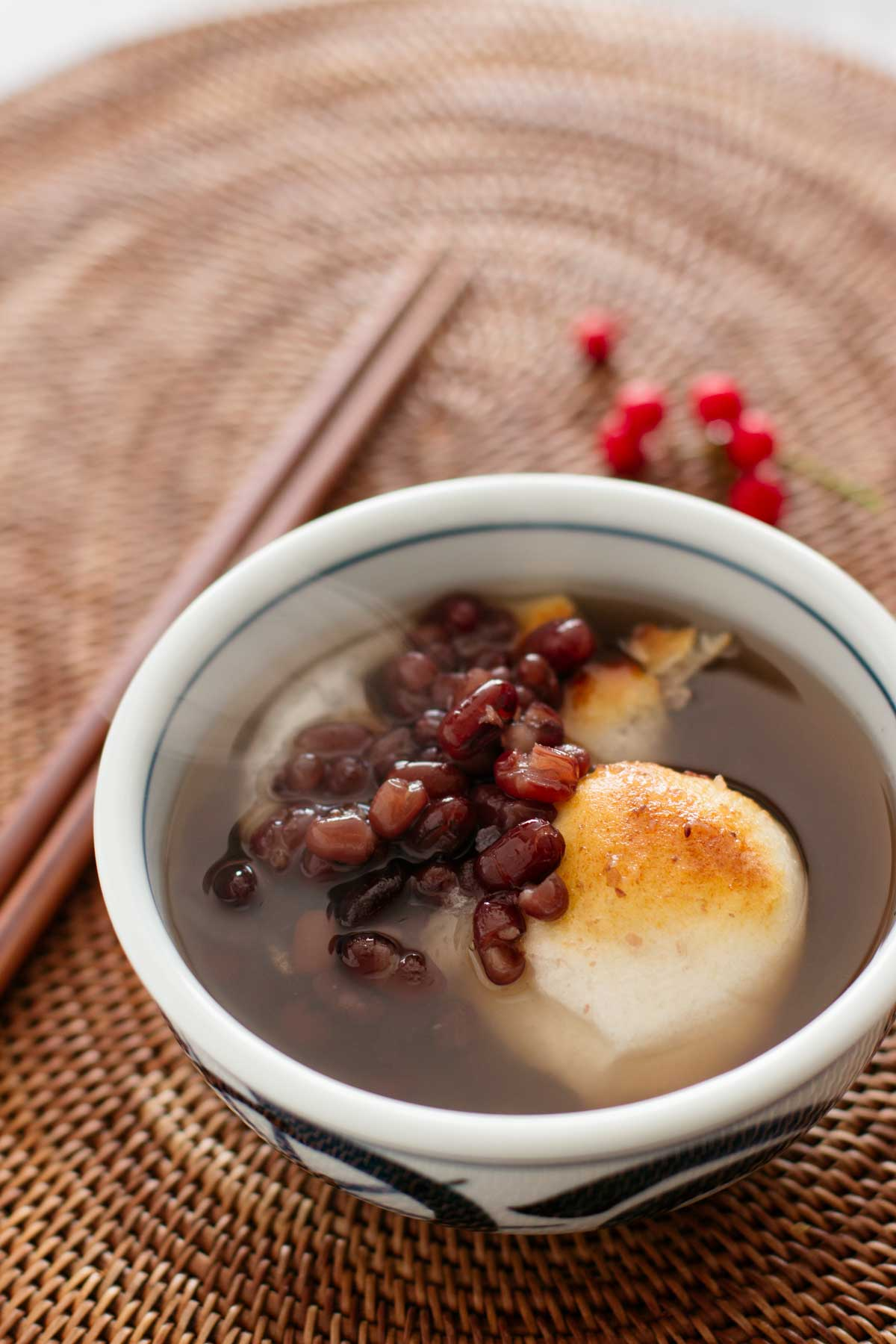 Sweet red bean soup
